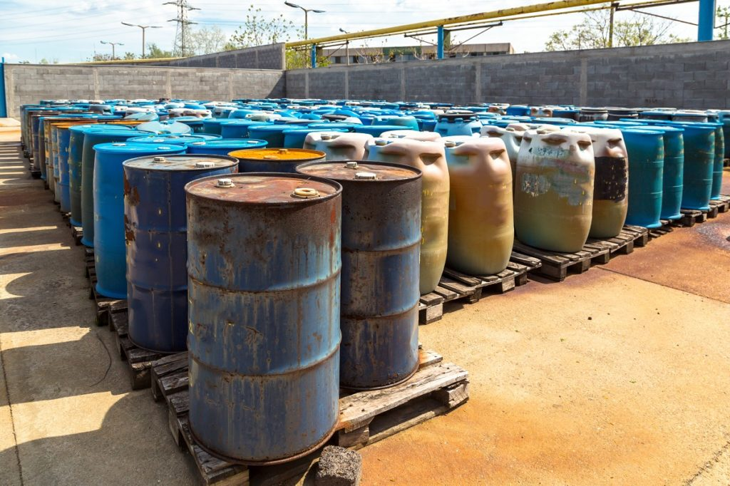 Barrels chemical