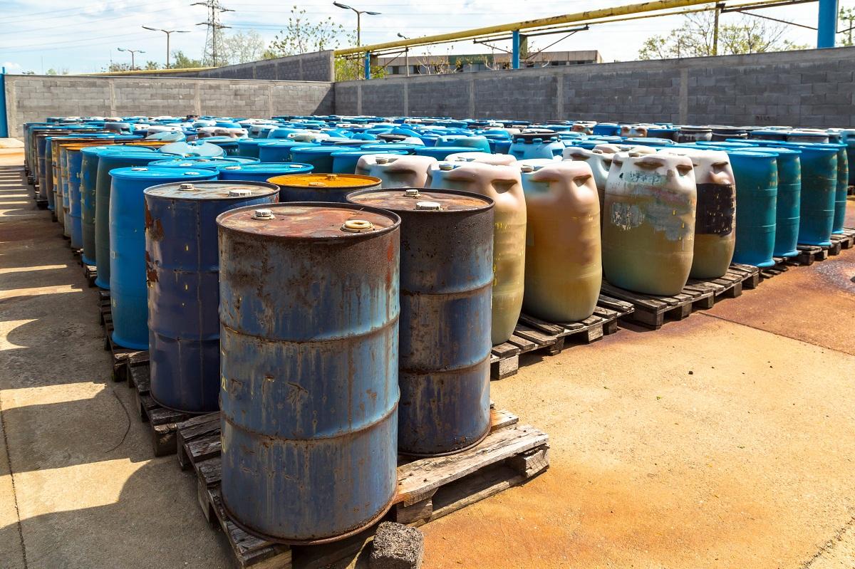 Barrels chemical