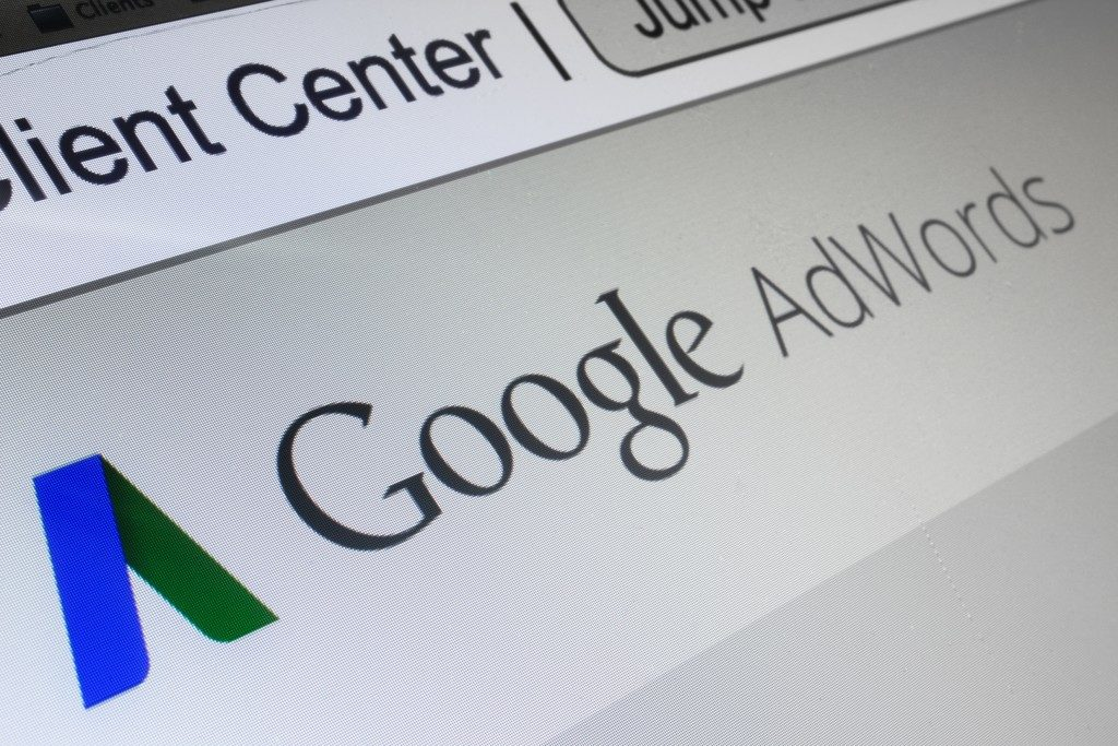Google adwords browser