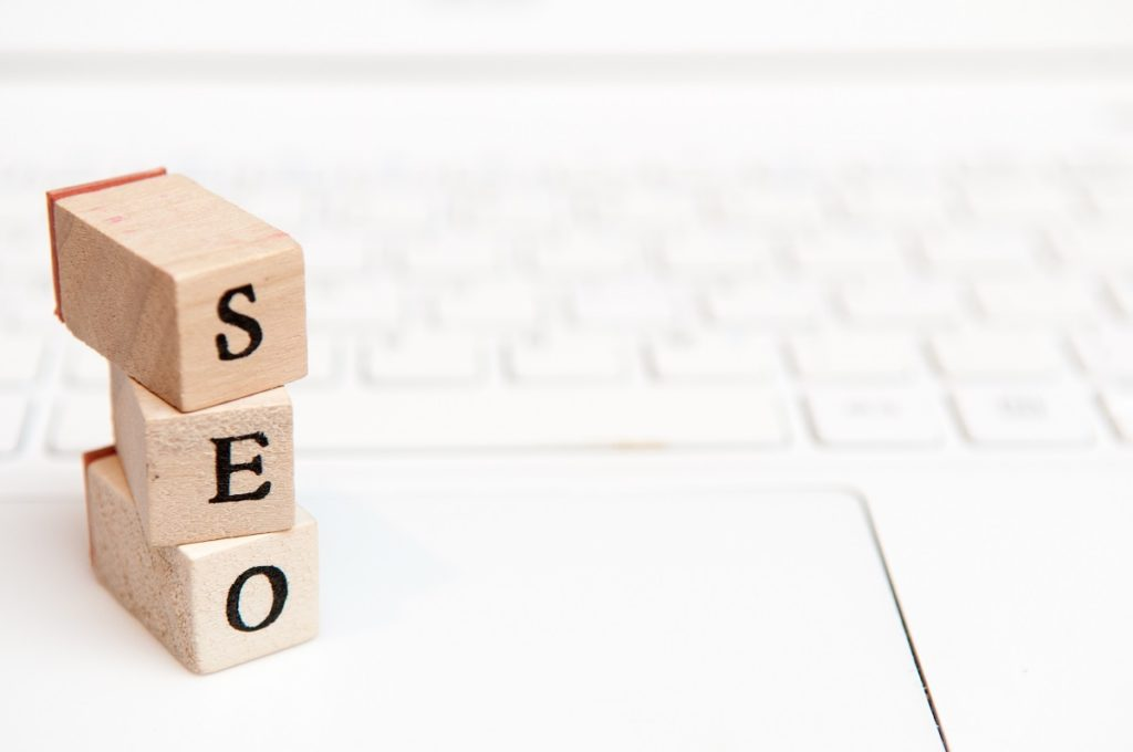 SEO wooden blocks