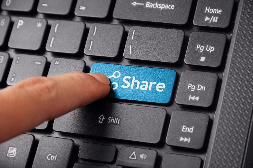 File sharing concept